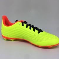 Sepatu bola adidas original Predator 18.4 FG JUNIOR stabilo orange new