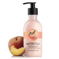 Terlaris THE BODY SHOP VINEYARD PEACH SOFTENING GEL-LOTION 250ML