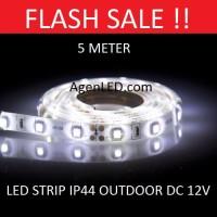 Lampu LED STRIP 3528 SMD 2835 IP44 IP 44 White outdoor ledstrip PUTIH