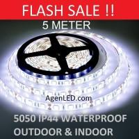 Lampu LED Strip 5050 IP44 12v OUTDOOR Ledstrip PUTIH ip 44 White 12 v