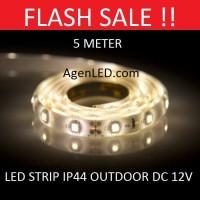 Lampu LED STRIP 3528 SMD 2835 IP44 IP 44 WARMWHITE outdoor Warm White