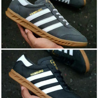 Sepatu Adidas Hamburg Man Komponen Ori