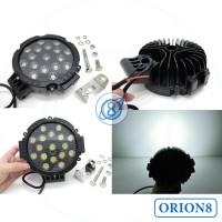 Lampu Sorot Tembak LED 17 Titik Mata 51W Super Terang Waterproof