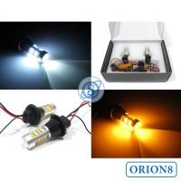 Lampu DRL Mobil 42 Mata LED Fitur Sein Lengkap Dengan Resistor