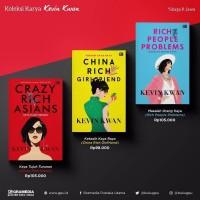 Buku Novel CRAZY RICH ASIANS Series by Kevin Kwan