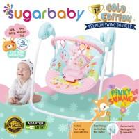 Sugar Baby - Premium Baby Swing Bouncer PINKY SUMMER