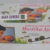 JAMU BERSALIN LENGKAP MUNTIKA AYU AIR MANCUR 1-40 HARI BNETUK PIL