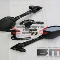SPION R25 CARBONE DAN BRAKET HONDA PCX NEW