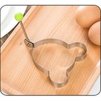 Alat Cetakan Kue Stainless Steel Cetakan Motif Goreng telur Berbentuk