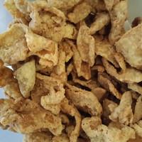 Keripik Kulit ayam telur asin salted egg kripik kerupuk netto 500 gr