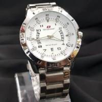 Jual jam tangan pria/cowok swiss army rantai premium elegan Diskon