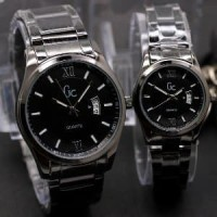 Jual jam tangan couple/pasangan gc premium simple elegant ha Limited