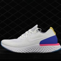 Sepatu Sneakers Nike Epic React White Blue Pink Premium BNIB unisex