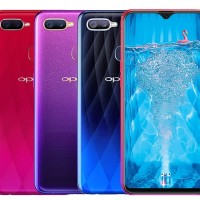 OPPO F9 RAm 4GB ROM 64GB Starry Purple Special Edition Garansi Resmi