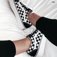 Sepatu Vans Old Skool Checkerboard Premium Quality
