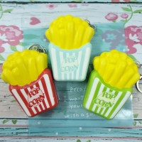 Squishy Murah Mini Pop Corn French Fries