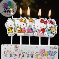 Lilin ulang tahun / lilin ultah karakter hello kitty