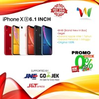 [DUAL SIM]Apple iPhone XR 64GB Black/Blue/Coral/Red/White/Yellow Nano