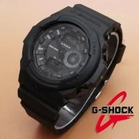 Jam Tangan Pria Casio Gshock GA 150 Q&Q QnQ 2 Jarum Murah Black