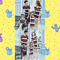 Baju Kaos Couple SET VINTAGE / Baju Natal Anak dan keluarga christmas