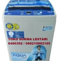 Aqua mesin cuci 1 tabung 7kg AQW77DH