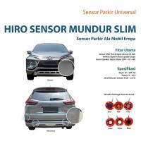HIRO SENSOR PARKIR SLIM WARNA HITAM - SENSOR MUNDUR MOBIL