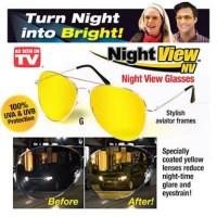 Night View Glasses Vision Kacamata Anti Silau Pusing di Malam Hari