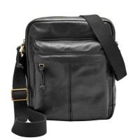 Fossil Defender Ns Black Man Bag