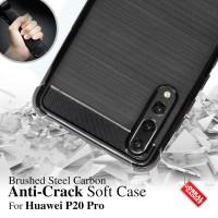 Anti Crack Soft Case Huawei P20 Pro Softcase Silikon Gel Casing Cover