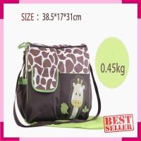 257 Tas perlengkapan bayi Travel baby bag Travelling bag bayi import