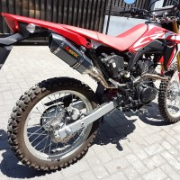 Knalpot Racing Akrapovic Carbon KLX BF Dtracker CRF 150 Original