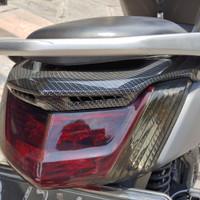 DuckTail Nmax Carbon & Spoiler Lampu Belakang Nmax Carbon Printing