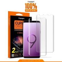 Spigen Samsung Galaxy S9 Plus Curved Crystal Screen Protector HD
