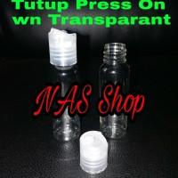 Botol Press On 30ml / Press Top / Botol Serum