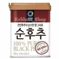 Daesang blackpepper black pepper powder merica lada hitam bubuk 50 gr