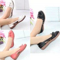 Sepatu Sandal Wanita Flat Shoes balet FRC01