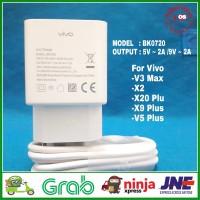 Charger Carger Adaptor Vivo V5 Plus Fast Charging Original 100% 9V 2A - Putih