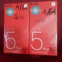 Xiaomi Redmi 5 plus Ram 4/64 Gb. Garansi Dist