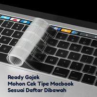Keyboard Protector Silikon New Macbook Pro Retina 13 15 TOUCH BAR