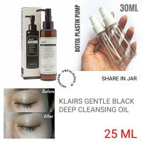 KLAIRS GENTLE BLACK DEEP CLEANSING OIL SHARE IN JAR 25ML