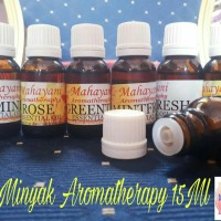 Minyak Aromaterapi/Diffuser Aromatherapy Oil /Pengharum Ruangan 15ML