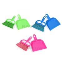 Sapu,Sapu Plastik,Sapu Set,Warna,Sapu Mini,Kecil,Sapu Mobil Nagoya - Merah Muda