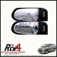Anti Fog Film - Anti Embum Air Hujan Kaca Spion Mobil Innova New