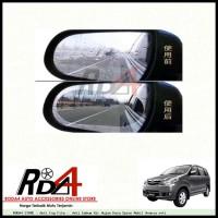 Anti Fog Film - Anti Embum Air Hujan Kaca Spion Mobil Avanza vvti