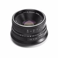 Lensa 7artisan 25mm f/1.8for fuji Black