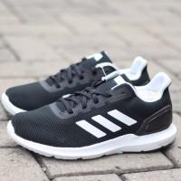 Sepatu Running Adidas Cosmic III Black Padding White Original BNWB