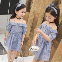dress import anak sabrina fashion korea