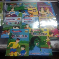 Cerita anak seri cerita rakyat 2 bahasa 32 halaman full colour