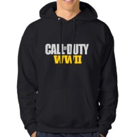Hoodie Game Pria Call Of Duty WWII