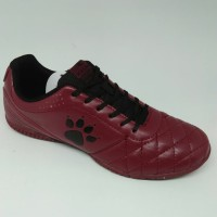 Sepatu futsal / putsal footsal Kelme Original Power Grip maroon new 2